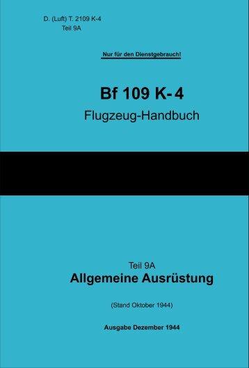 109K-4 Flugzeug Handbuch - SprueMaster