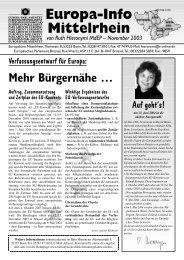 EU-Verfassungsentwurf - Ruth Hieronymi
