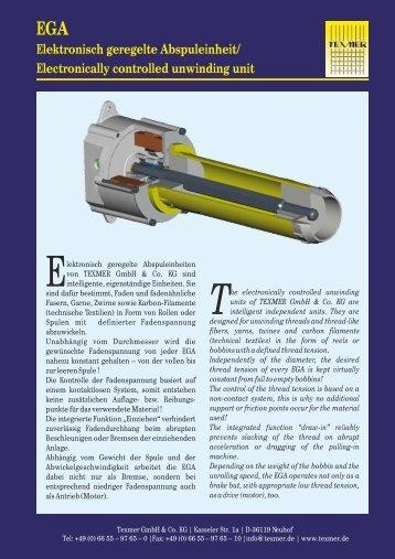 Download EGA Flyer - Texmer GmbH