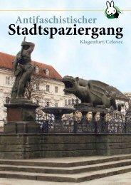 Folder zum Antifaschistischen Stadtspaziergang 2008