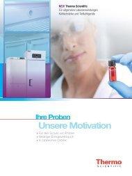 Ihre Proben Unsere Motivation - Thermo Scientific