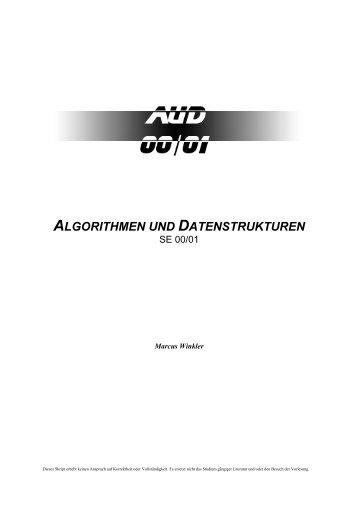 Algorithmen und Datenstrukturen - Sonabiles