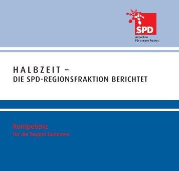 HALBZEIT – - SPD-Regionsfraktion Hannover