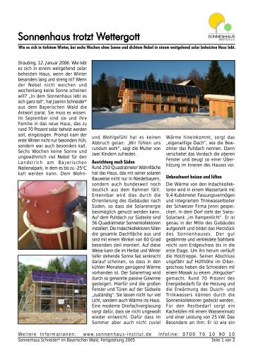 Download (pdf 258 KB) - Sonnenhaus-Institut