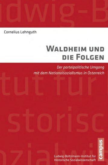 Waldheim und die Folgen - Die Onleihe