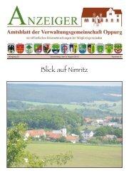 Amtsblatt 08 - Verwaltungsgemeinschaft Oppurg