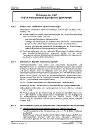 Richtlinien der USIC für den internationalen Eisenbahner ...