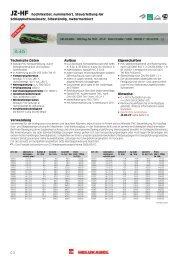 JZ-HF hochflexibel, nummeriert, Steuerleitung für ...