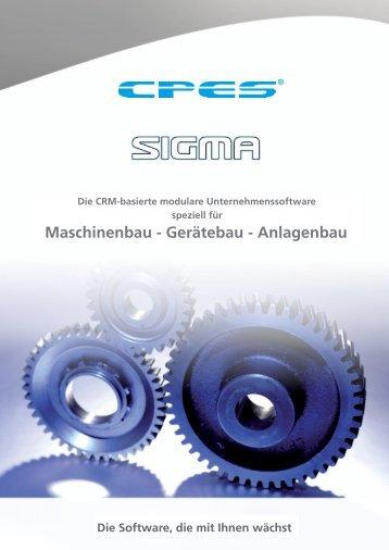 Download Prospekt Sigma (.pdf 35 mb) - unsere garantie