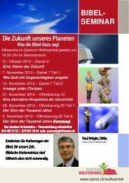 flyer Paul Bibelseminar Daniel Offenbarung 2012 A5 - Freikirche der ...