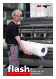 Die Macher von der Extrusion - Folag AG Folienwerke