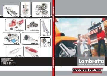 SCOOTER CENTER Lambretta Katalog 2006