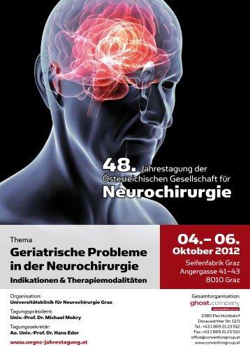 Neurochirurgie - OEGNC Jahrestagung