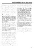 Gebrauchsanweisung - Miele - Seite 5