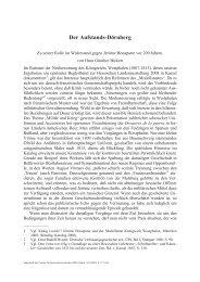 Der Aufstands-Dörnberg - VHG-Verein für hessische Geschichte ...