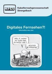 Digitales Fernsehen?! - Kfgs.ch