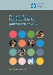 Zentrum für Migrationskirchen Jahresbericht 2012