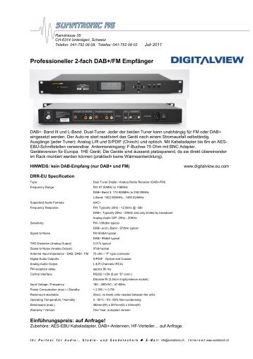Digitalviewch Magazine