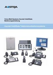 Voice Mail Ascotel - Steinegger Elektro AG