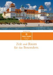 Hotelprospekt - Travel Charme Hotels & Resorts