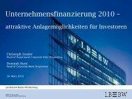 Trends 2010 - Landesbank Baden-Württemberg