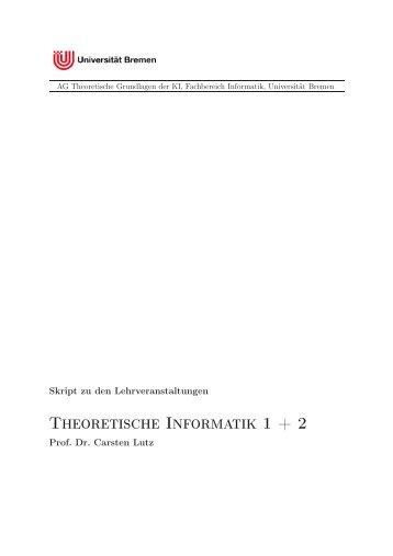 Skriptes - FB3 - Uni Bremen - Universität Bremen