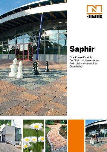 Saphir - Pflastersteine von Niemeier