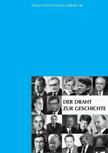 Broschüre - Abgeordnetenhaus von Berlin