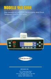 Modelle 960 Serie POX Benutzerhandbuch - German ... - Mediaid Inc