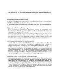 Alarmplan - Die Senatorin für Bildung und Wissenschaft - Bremen
