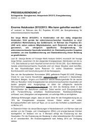 Enorme Heizkosten 2012/2013 - e7 - Energie Markt Analyse