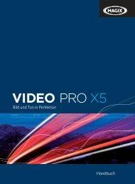 MAGIX Video Pro X5 - MAGIX Pro