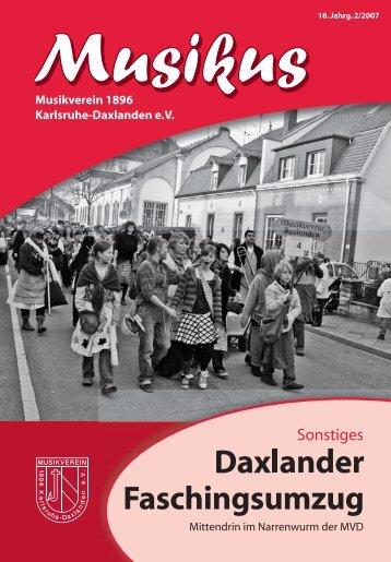 7004 Musikus 2 2007 RZ teils Kurven.indd - Musikverein Daxlanden
