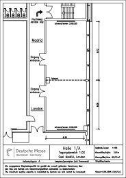 Grundrissplan / Bestuhlungsvarianten (PDF 634 KB) - Raumwunder ...