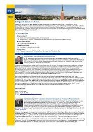 WSP aktuell, Ausgabe Februar 2010 - Wirtschaft und Stadtmarketing ...