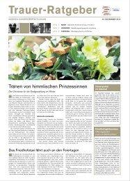 Trauer-Ratgeber - Rhein-Main.Net