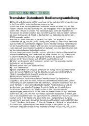 Download Bedienungsanleitung (pdf) - von Manfred Hund