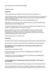 Aufgaben - von Manuel Friedrich