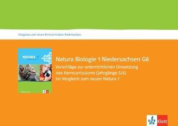 Natura Biologie 1 Niedersachsen G8