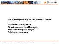 Präsentation - Stadt Schwäbisch Hall