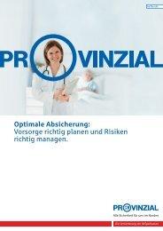 Optimale Absicherung: Vorsorge richtig planen und Risiken richtig ...