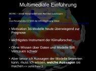 Multimediale Einführung - TomBlog