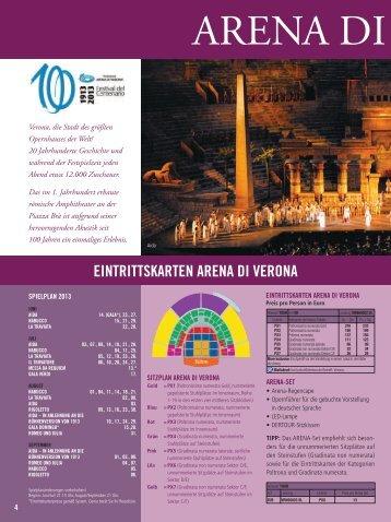 +++ 100 Jahre Arena di Verona +++ Karten & Hotel, ganz nach Ihren ...