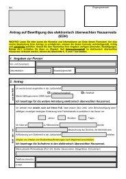 Antrag Hausarrest |PDF - Neustart