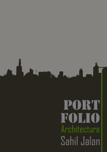 Portfolio Architecture_Sahil Jalan