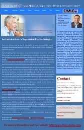 An Introduction to Depression Psychotherapist