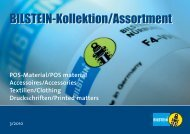 Pos-Material/Pos material Accessoires/Accessories ... - Bilstein