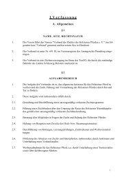 Die Satzung des Holsteiner Verbandes zum Download (PDF)
