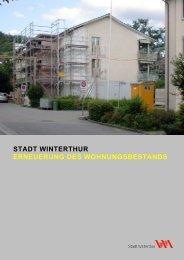 Erneuerung des Wohnungsbestandes(PDF, 1.3 MB)
