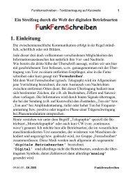 FunkFernSchreiben - Nonstop Systems